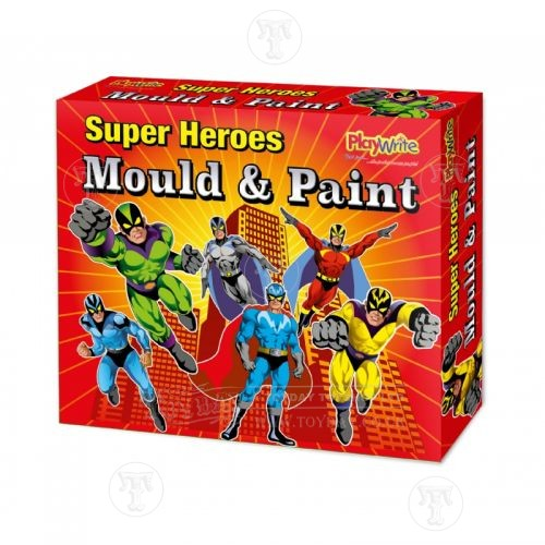 Toyday Traditional & Classic Toys Mould and Paint Hero Magnets