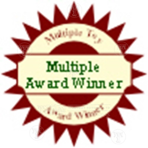 Multiple Toy Award Winner