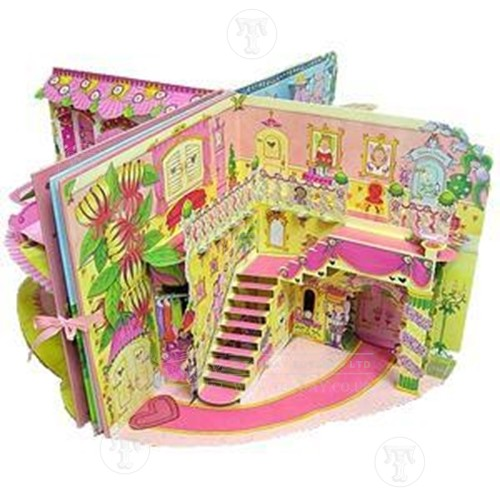 My Fairy Princess Palace Pop Out Book