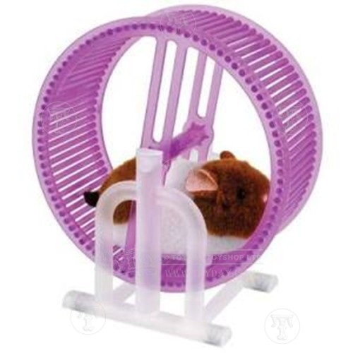 Toyday Traditional & Classic Toys  Hamster On A Wheel