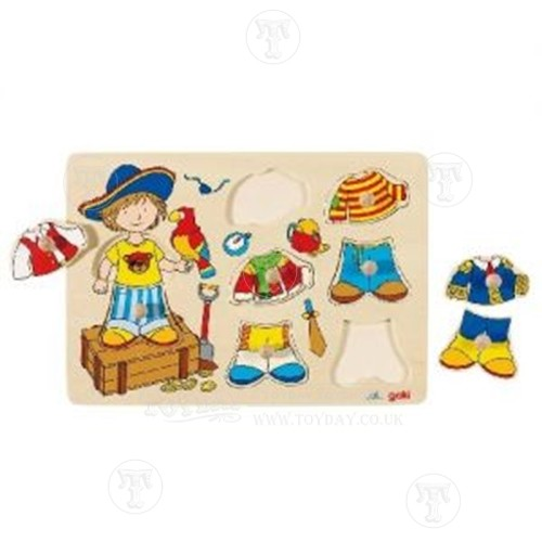 Pirate Dress Up Lift Out Puzzle