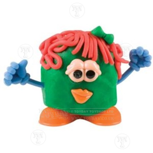 Play Dough Head Green