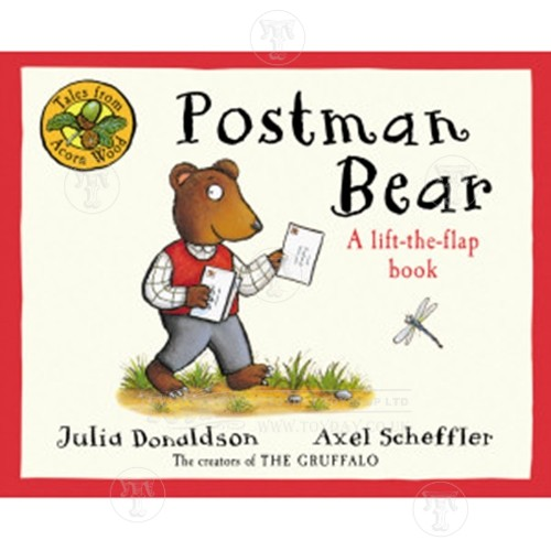Postman Bear Tale From Acorn Wood