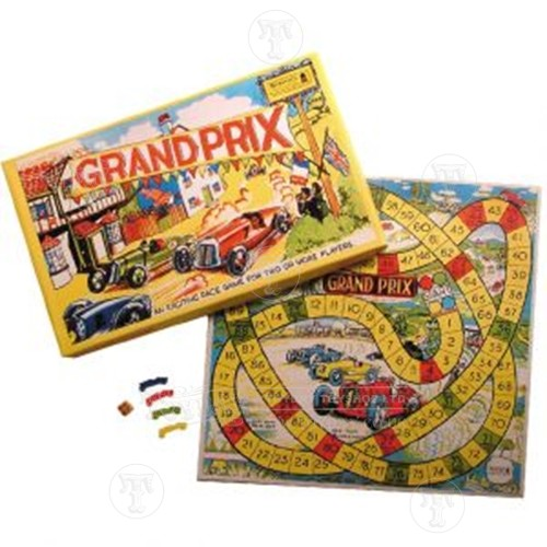 Grand Prix Racing Board Game