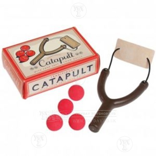 Catapult with Four Foam Balls