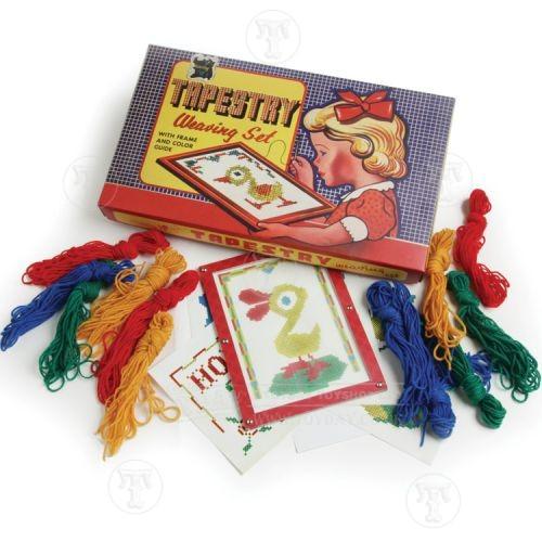 Retro Tapestry Weaving Set