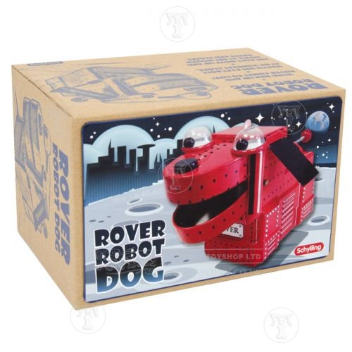 rover robot schylling tin toy