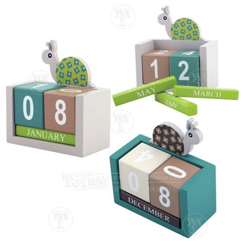 Snail Calendar Blocks