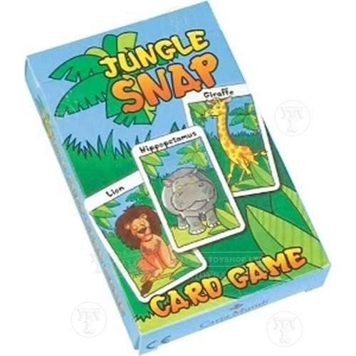 Jungle Snap Card Game
