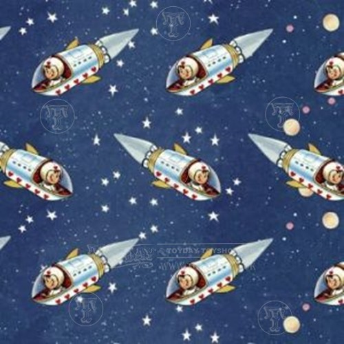 Space Boy Gift Wrap