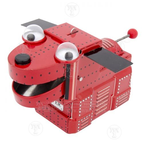 Space Dog Tin Toy