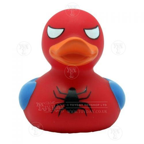 spiderman rubber duck