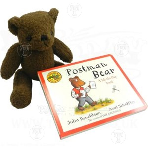 Teddy Bear and Book
