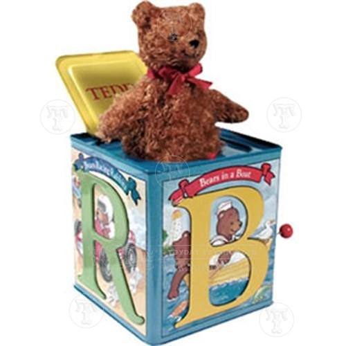 Teddy Bear Jack in a Box