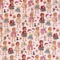 Sheet of Dress Up dolly Gift Wrap