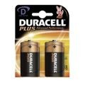 Pack of 2 Duracell D Batteries