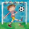Football Jigsaw Birthday Card