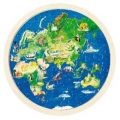 Double Sided Globe Jigsaw Puzzle