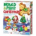 Mould and Paint Christmas Magnets or Ornaments