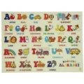 Retro Alphabet Fridge Magnets