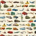 Vintage Transport Wrapping Paper