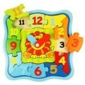 Wooden Learning Clock Puzzle