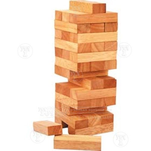 Wooden Tumbling Tower Game Discontinued Extraordinary Wooden Bricks Game