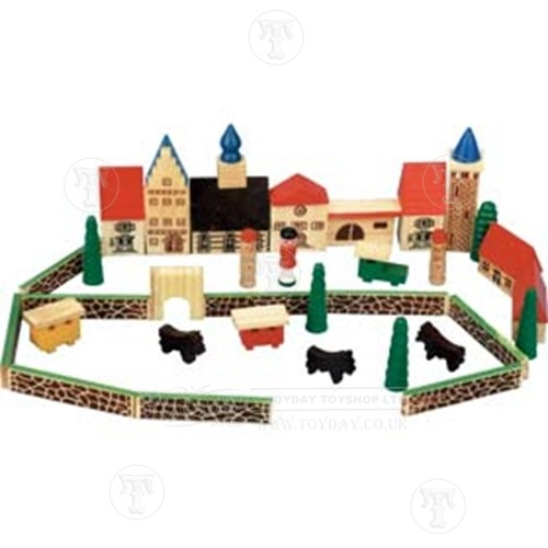 Wooden Toy Town