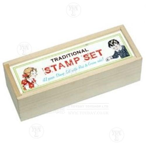 Traditional Alphabet amp Number Stamp Set