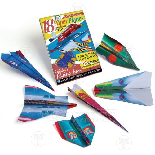 Make Your Own Paper Aeroplanes