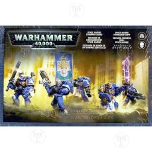 Warhammer 4044000 Space Marine Command Squad