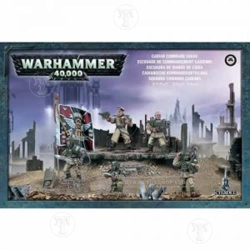 Warhammer 4044000 Cadian Command Squad