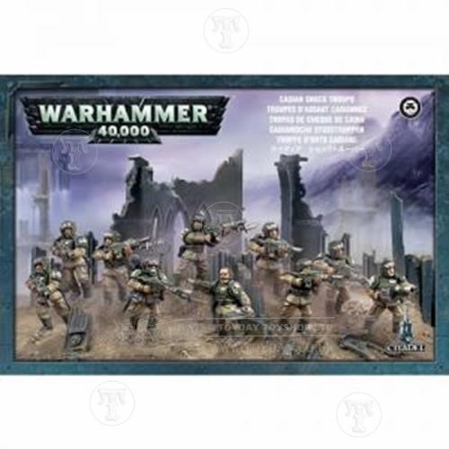 Warhammer 40k Imperial Guard Cadian Shock Troops