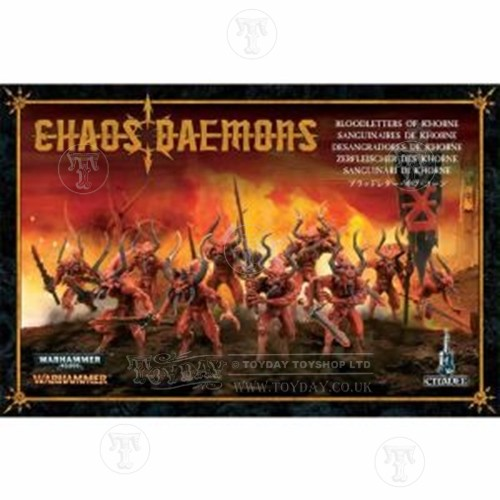 Warhammer 4044000 Chaos Daemon Bloodletters