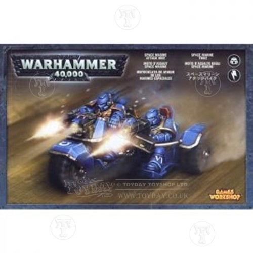 Warhammer 4044000 Space Marine Attack Bike