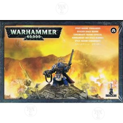 Toyday Traditional & Classic Toys  Warhammer 40&#44000 Space Marine Commander