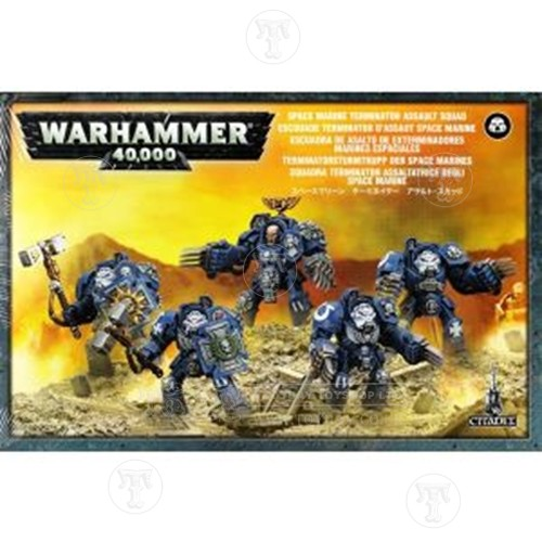 Warhammer 4044000 Space Marines Assault Squad