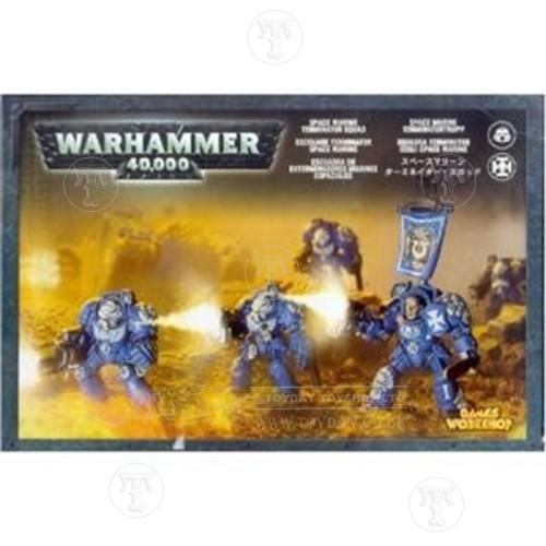 Warhammer 4044000 Space Marine Terminator Squad