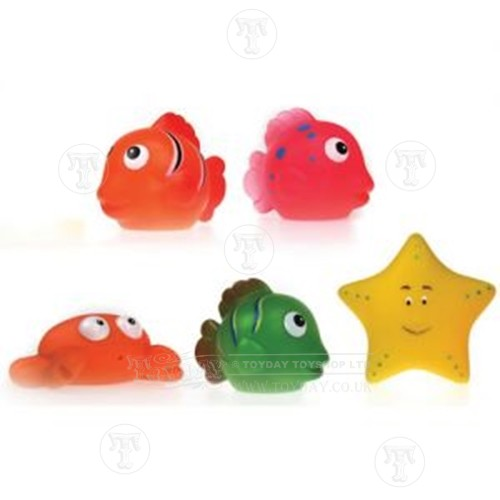 Pack of 5 Water Squirters