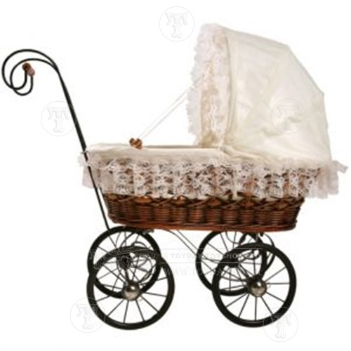 Antique Look Doll's Pram