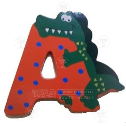 Wooden Animal Letter A