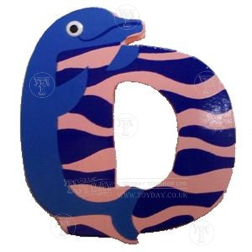 Wooden Animal Letter D