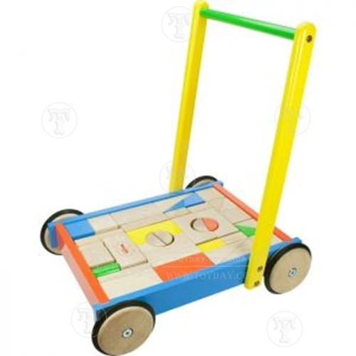Click to view product details and reviews for Baby Walker With Wooden Blocks.