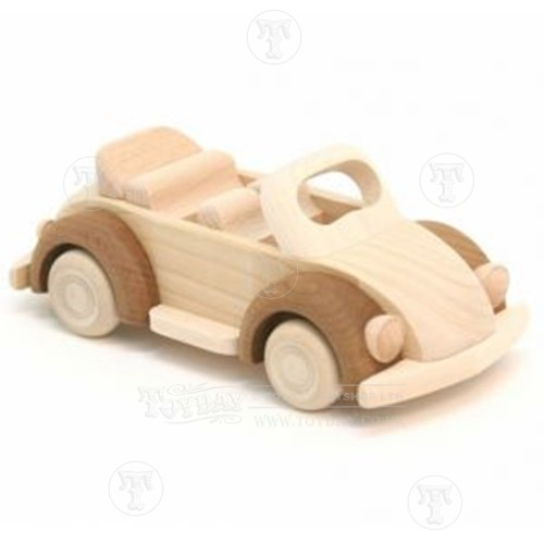 Discontinued /Wooden Beetle Car