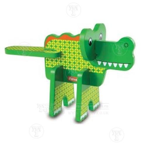 Alligator Stacking Puzzle