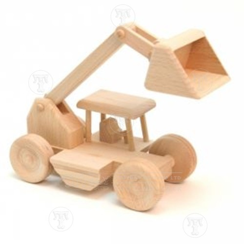 Toy Wooden Digger