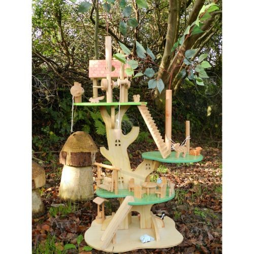Wooden Tree Dolls House