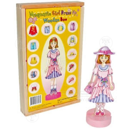 Dress Shopping Online on Wooden Dress Up Doll   Dolls   Dolls   Plush