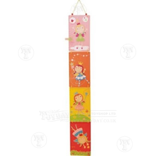 Wooden Fairy Height Chart