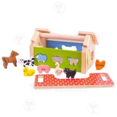 Farm House Shape Sorter